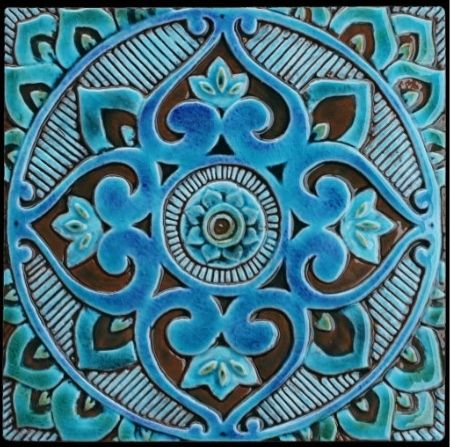 Mosaic Geometric Moroccan/Turkish Pattern