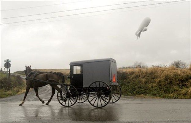 Runaway Military Blimp Lands In Rural Pennsylvania After Fighter