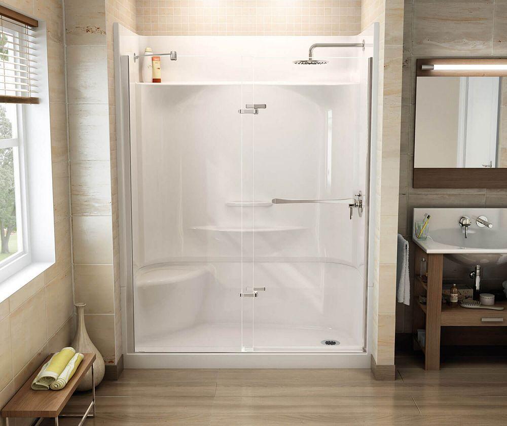 Pin By Glenda Boutilier On Bathroom In 2020 Maax Shower Doors Shower Door Installation Shower Doors