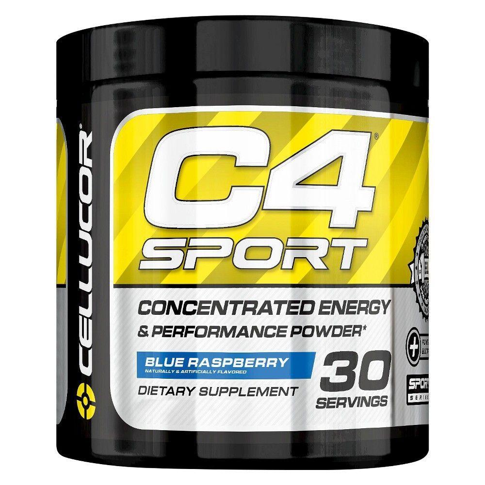 Cellucor C4 Sport PreWorkout Powder Blue Raspberry 9