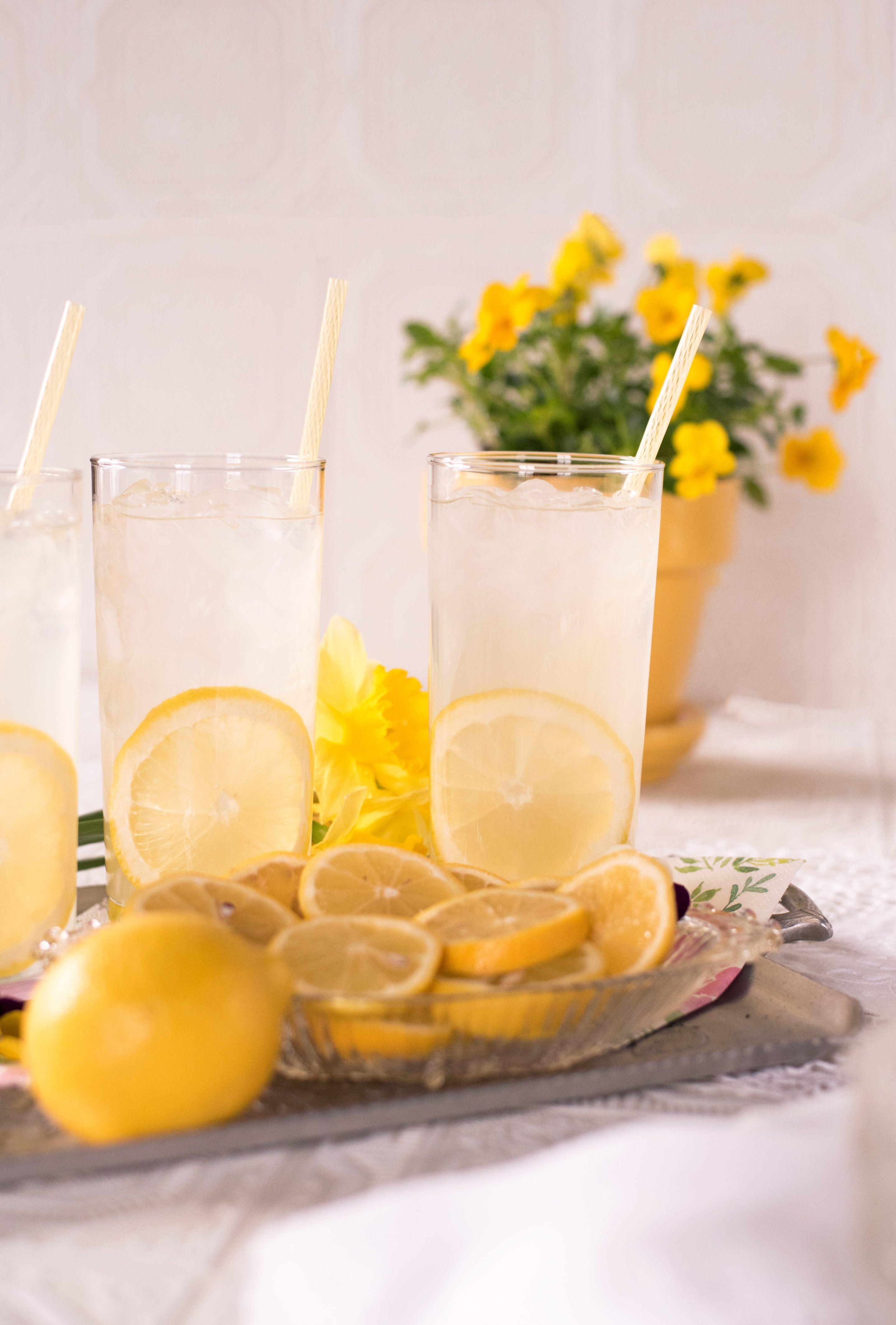 Rehydrating Lemon Spritz Recipe Homemade Lemonade Recipes
