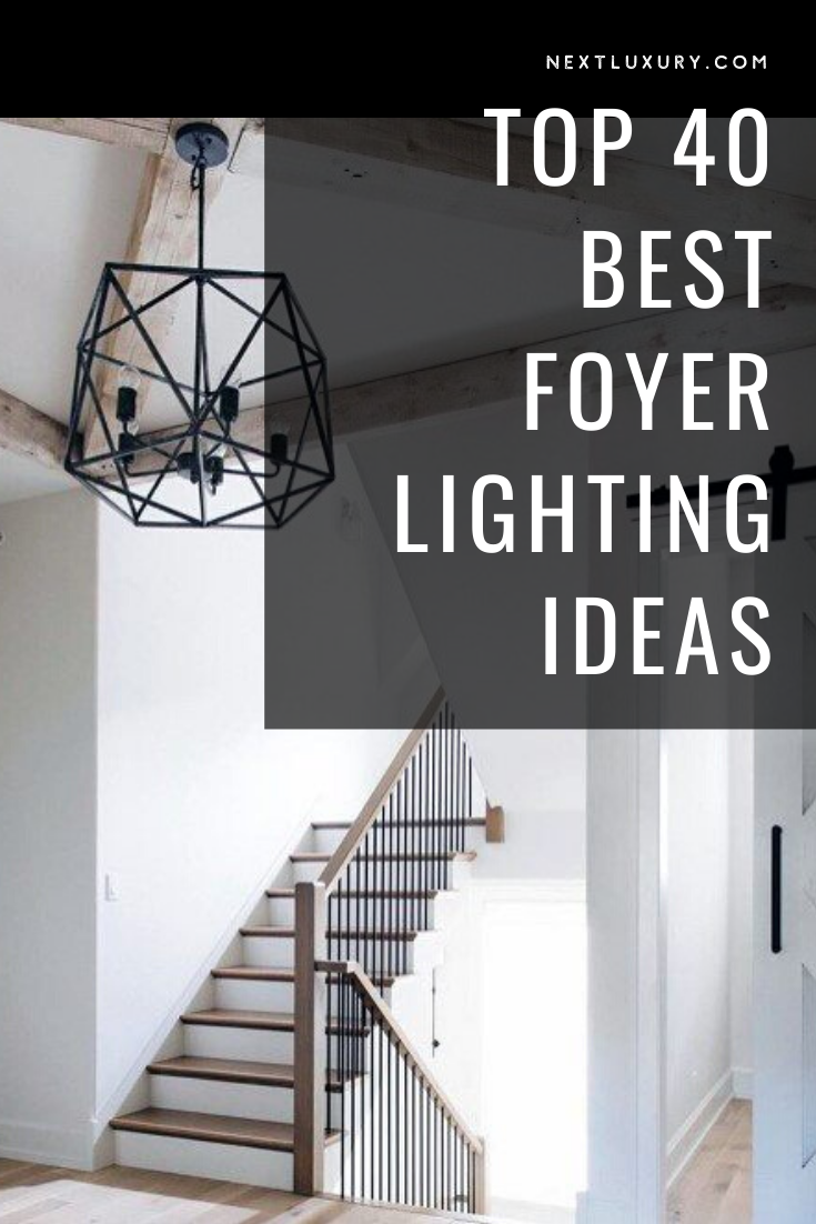 A foyer speaks volumes about the kind of home that lies beyond the introductory threshold, both around the corner as well as tucked behind closed doors.Many factors separate a foyer from a mere entry hall, but lighting is arguably the first and last to leave the greatest impression. #nextluxury #homedesign #homedecor #homedecorideas