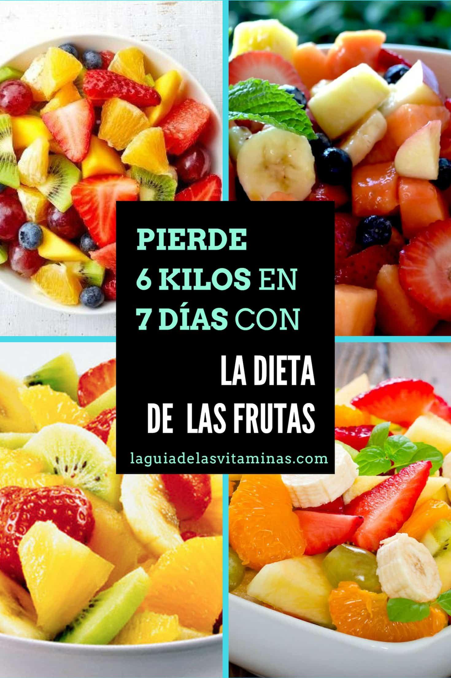 dieta para bajar de peso con vitaminas
