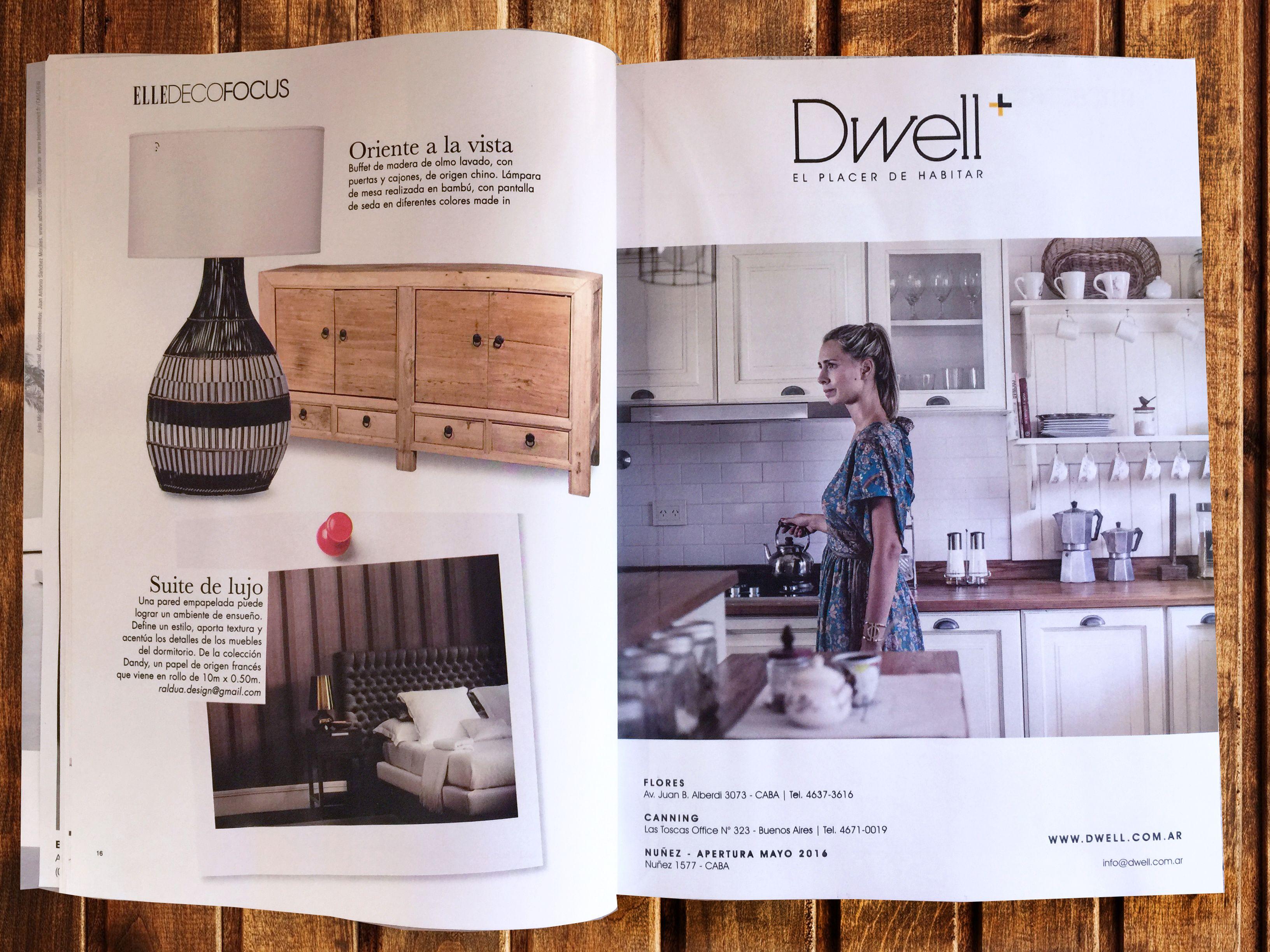 Encontranos En La Revista Elle Decoration Argentina Prensa  # Muebles Generacion