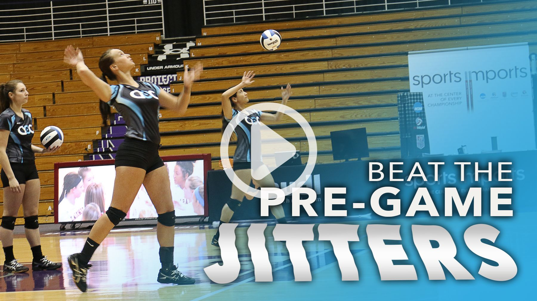 Andrea Becker Beat The Jitters With A Consistent Routine The Art Of Coaching Volleyball Coaching Volleyball Volleyball Sports Psychology