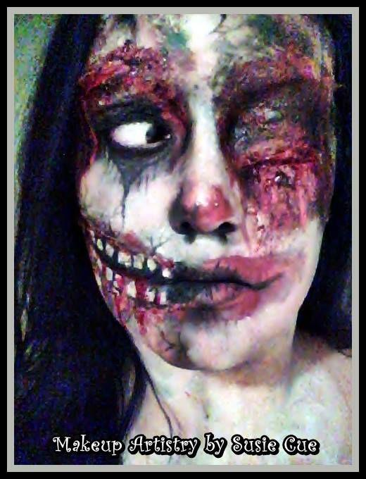 Zombie Halloween makeup Halloween Makeup Ideas( Pinterest - halloween horror makeup ideas