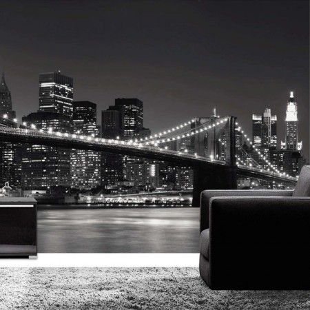 Foto Behang New York.Fotobehang New York Skyline Behang Be Creative Wall Murals Ny