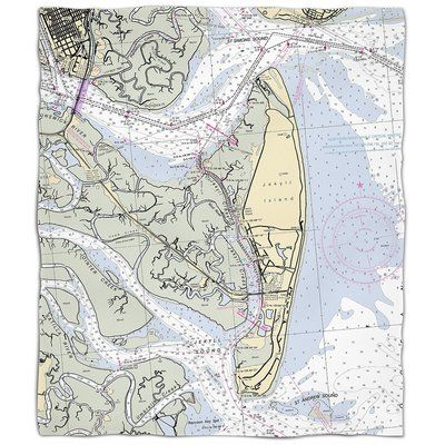 Breakwater Bay Weise Ga Nautical Chart Throw In 2018 Products