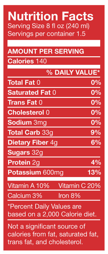 Strawberry Banana Solstice Nutrition Facts Nutrition Facts Smart Smoothie Nutrition