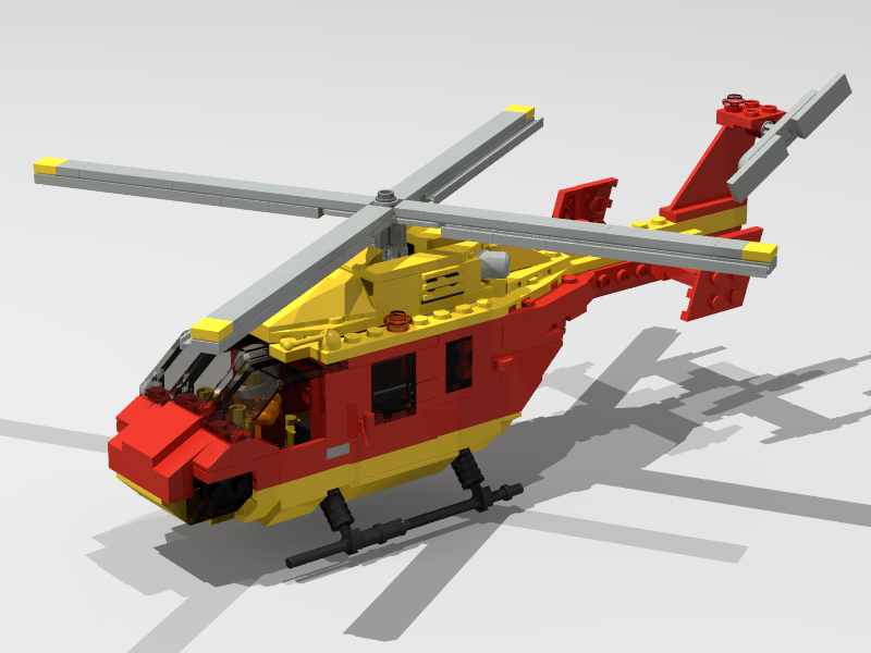 Air Ambulance by Mad Physicist