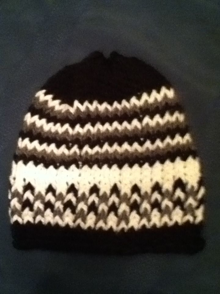 Easy loom knit hat! Works on any loom for any size! 1. E wrap and ...
