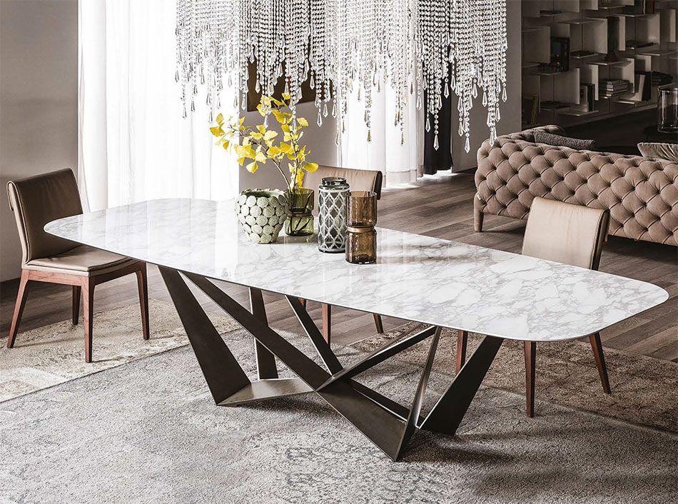 Cattelan Italia Skorpio Keramik Italian Dining Table Evlcryn In 2019