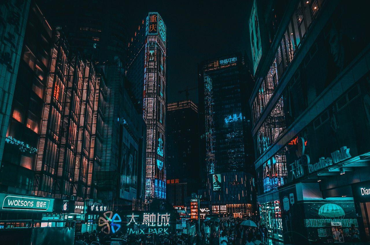 Night Cyberpunk [1920×1200] 4K