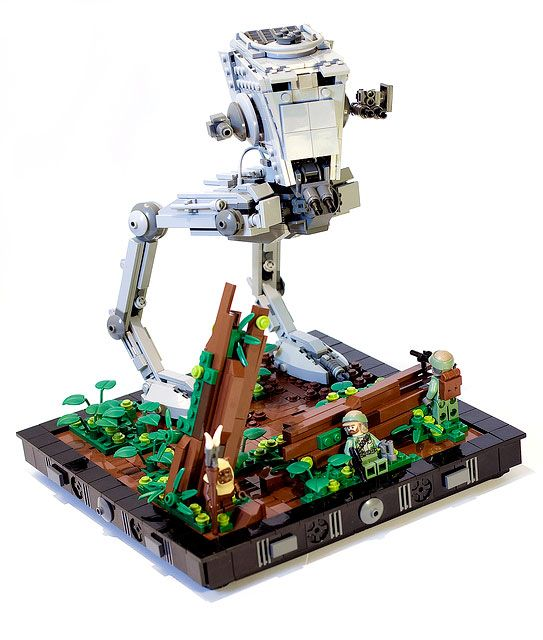 Moc Endor Battle Lego Star Wars Lego Star Wars Lego Et Star Wars