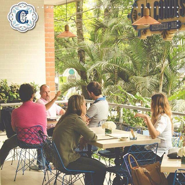 Una tarde en #LaCondesaMedellín te permite salir de la rutina y disfrutar buenos momentos entre amigos #TardesLaCondesa #FoodPorn #GastronomíaEnMedellín #Medellín #Fresh #Natural #Food #Drinks #Café #Charcutería #Bar #Friends