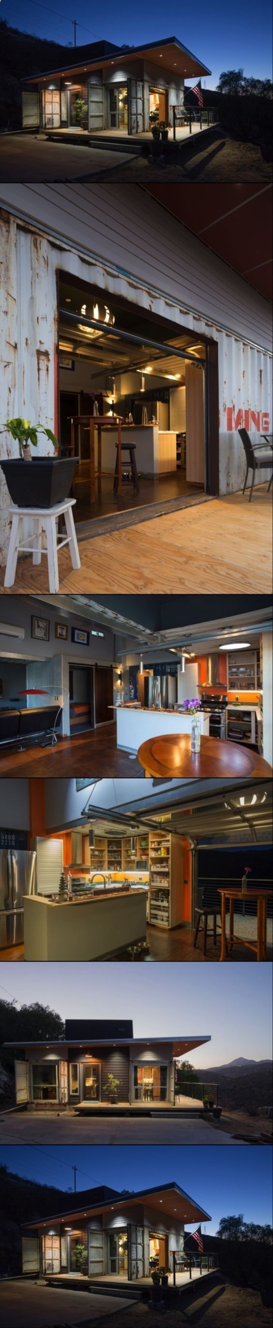 Container house rustic shipping container homes built in a budget