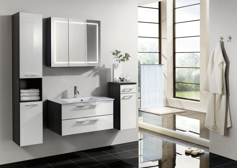 Badea Sky Color Feeling Bathroom Furniture in High Gloss White ...