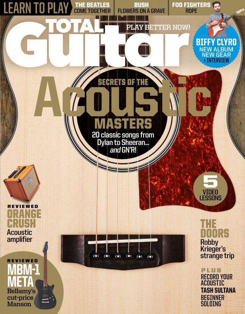 Total Guitar Summer 2020 In 2020 Guitar Guitar Magazine Classic Songs