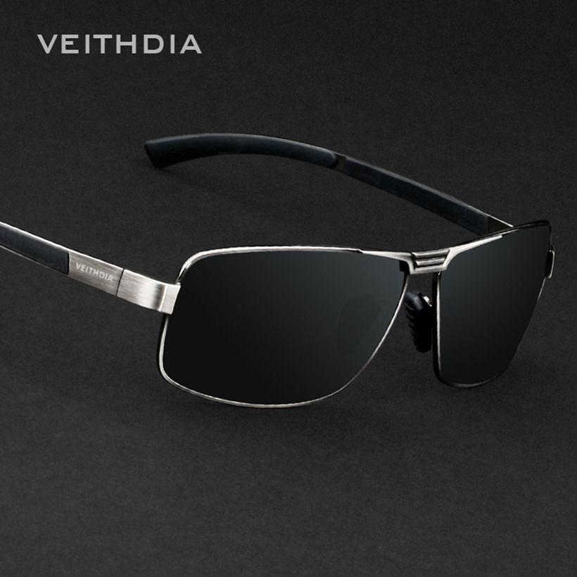 0b7e55d83f Luxury Brand Veithdia Polarized UV400 Sunglasses For Men s Driving Car  Sports Fishing Male Square Full Frame Sun Glasses Driver