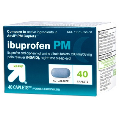 Ibuprofen (NSAID) PM Extra Strength Pain Reliever Nighttime