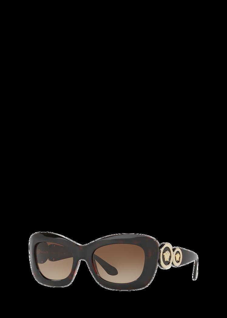 752d7a1fc8f Versace Havana Rectangular Sunglasses for Women