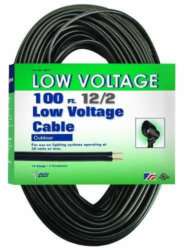 Coleman Cable 095136208 12 2 Low Voltage Lighting Cable 100 Feet By Coleman Cable Save 3 Off Cable Lighting Low Voltage Lighting Low Voltage Outdoor Lighting