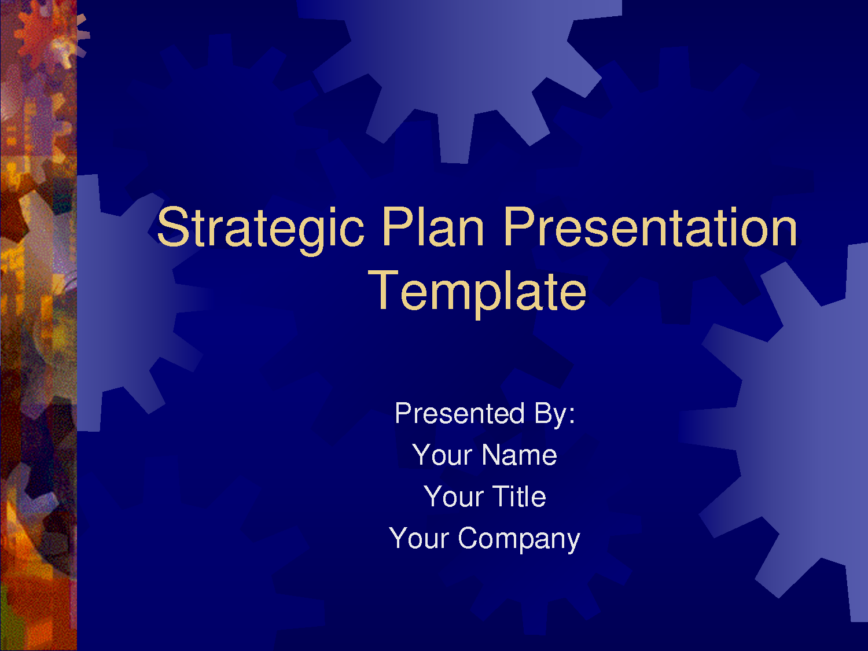 Strategic Plan Powerpoint Templates Business Plan