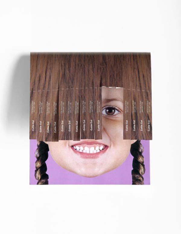 Cuttie Cut Girl, Hair Salon, YR Toronto, Print, Outdoor, Ads