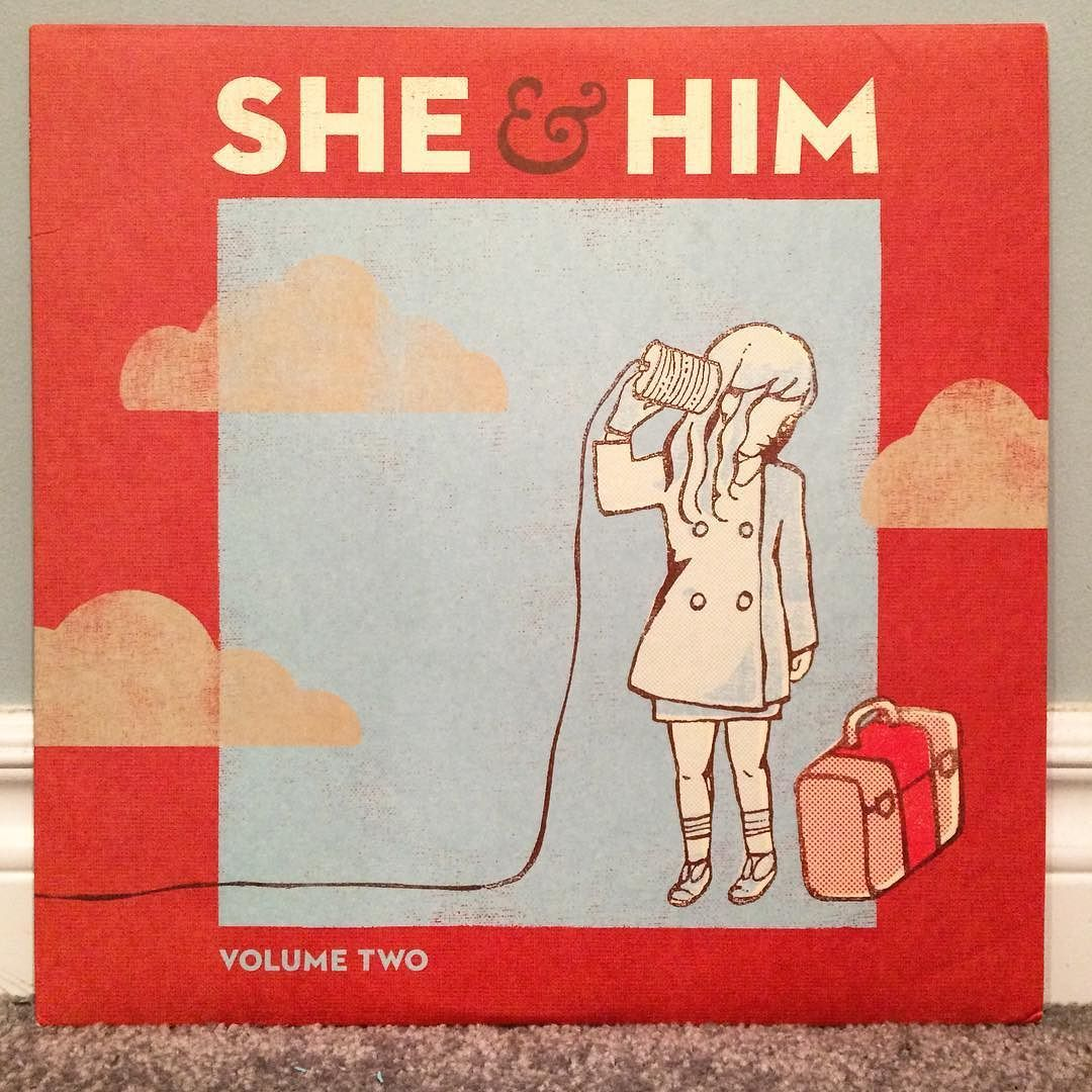 She & Him - Volume Two   #vinyl #vinylcollection #vinyljunkie #vinylcollector #recordcollection #records #sheandhim #zooeydeschanel #mward #indie #folk #indiepop #singersongwriter by jrvinyl https://www.instagram.com/p/BE2hsVfsu8W/ #jonnyexistence #music