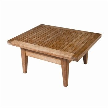 table relevable teck Truffaut   ++ déco idées achat   Table, Outdoor ...