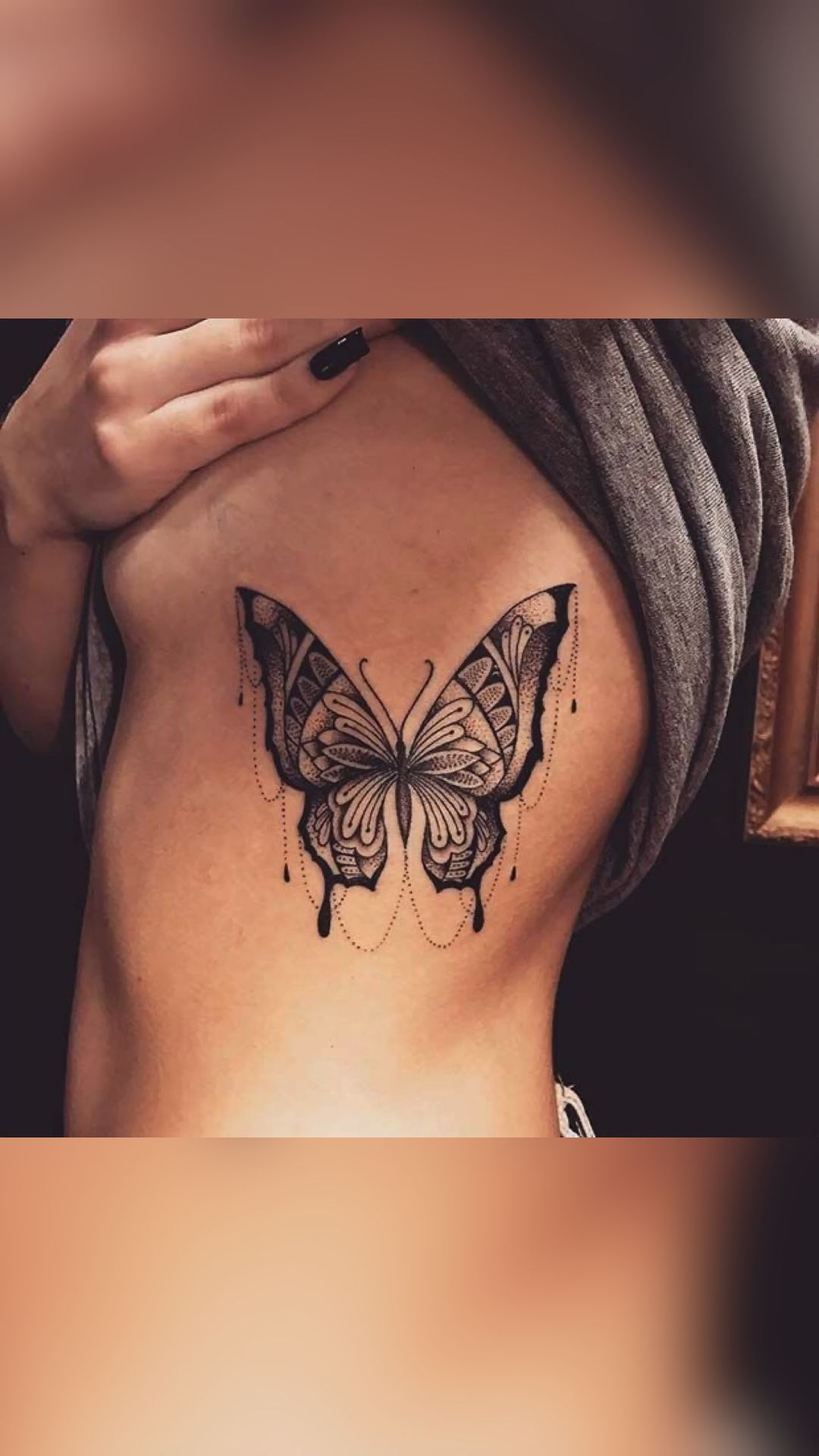butterfly&moon