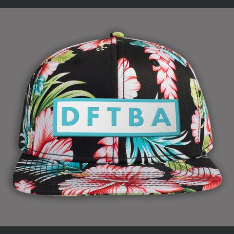 c0bc444158e DFTBA Floral Snapback Hat  22. A snapback hat that I might actually wear