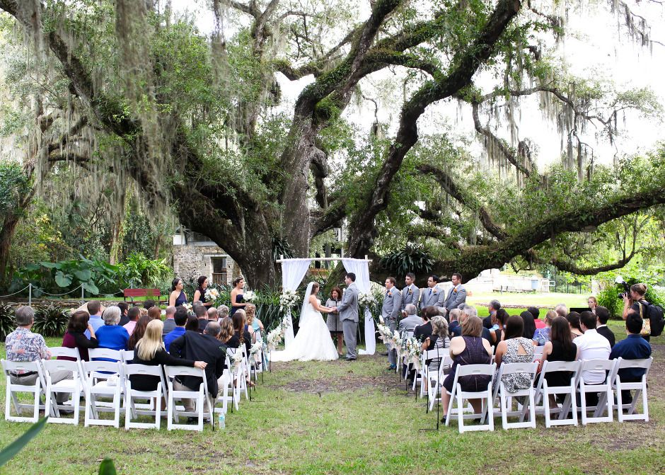 becphotography Sugar Mill Gardens Port Orange, Florida Wedding ...