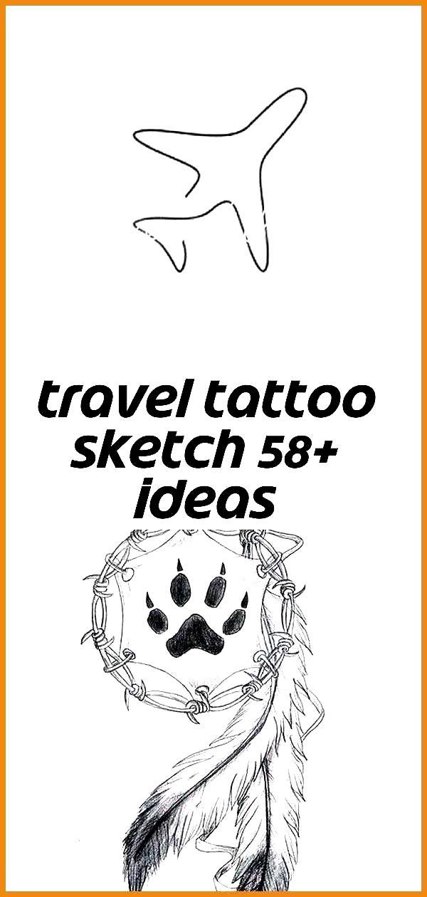 Travel tattoo sketch 58+ ideas- - Travel Tattoo Sketch 58+ Ideas 45 Creative Tattoo Drawings