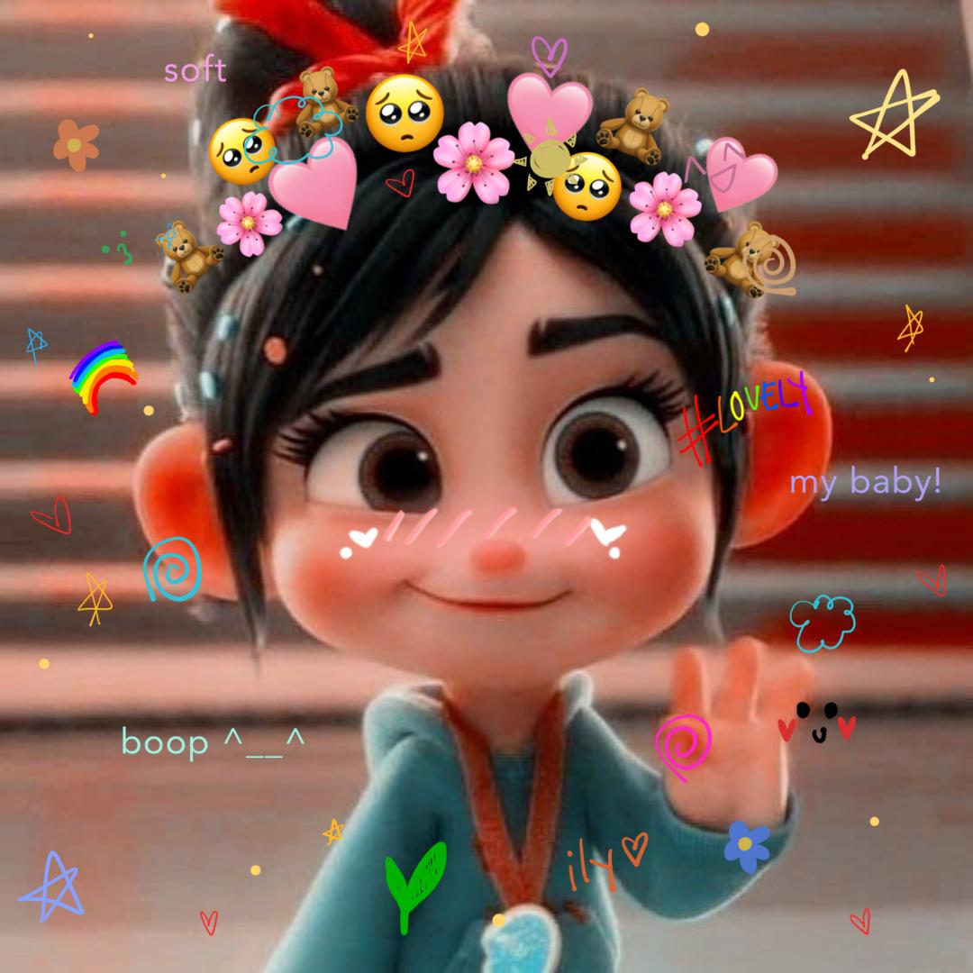 Penelope icon profile pic/self made/ icon foe profile pic/canva edit photo/ :)