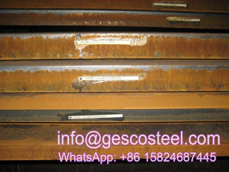 Q235b Q235b Plate Q235b Steel A36 Ss400 A283c S235jr S355jr Jo J2 A572 A573 Q420 Q460 Steel Plate Q235 Steel Plate Equivalent St Steel Sheet Steel Plate Steel