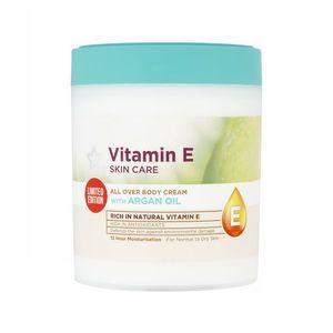 Superdrug Vitamin E All Over Body Cream Plus Argan Oil 475ml Body Cream Vitamin E Superdrug