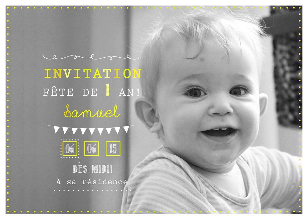 carte d 39 invitation personnalis e 1er anniversaire 10 go ter d 39 anniversaire carte. Black Bedroom Furniture Sets. Home Design Ideas
