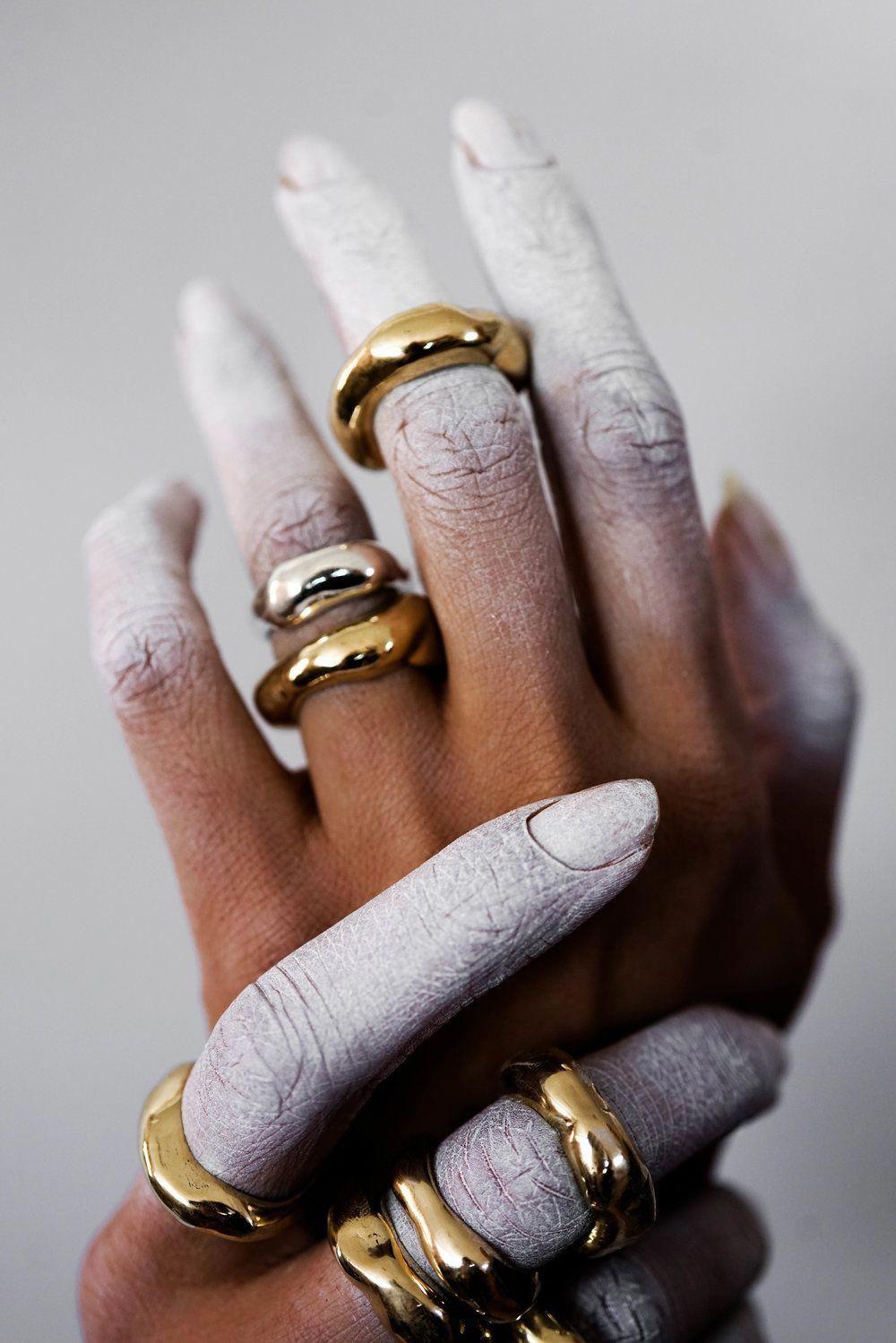 Photo of Nature Inspired Moissanite Engagement Ring 14K White Gold Halo Ring Moissanite Floral Engagem…