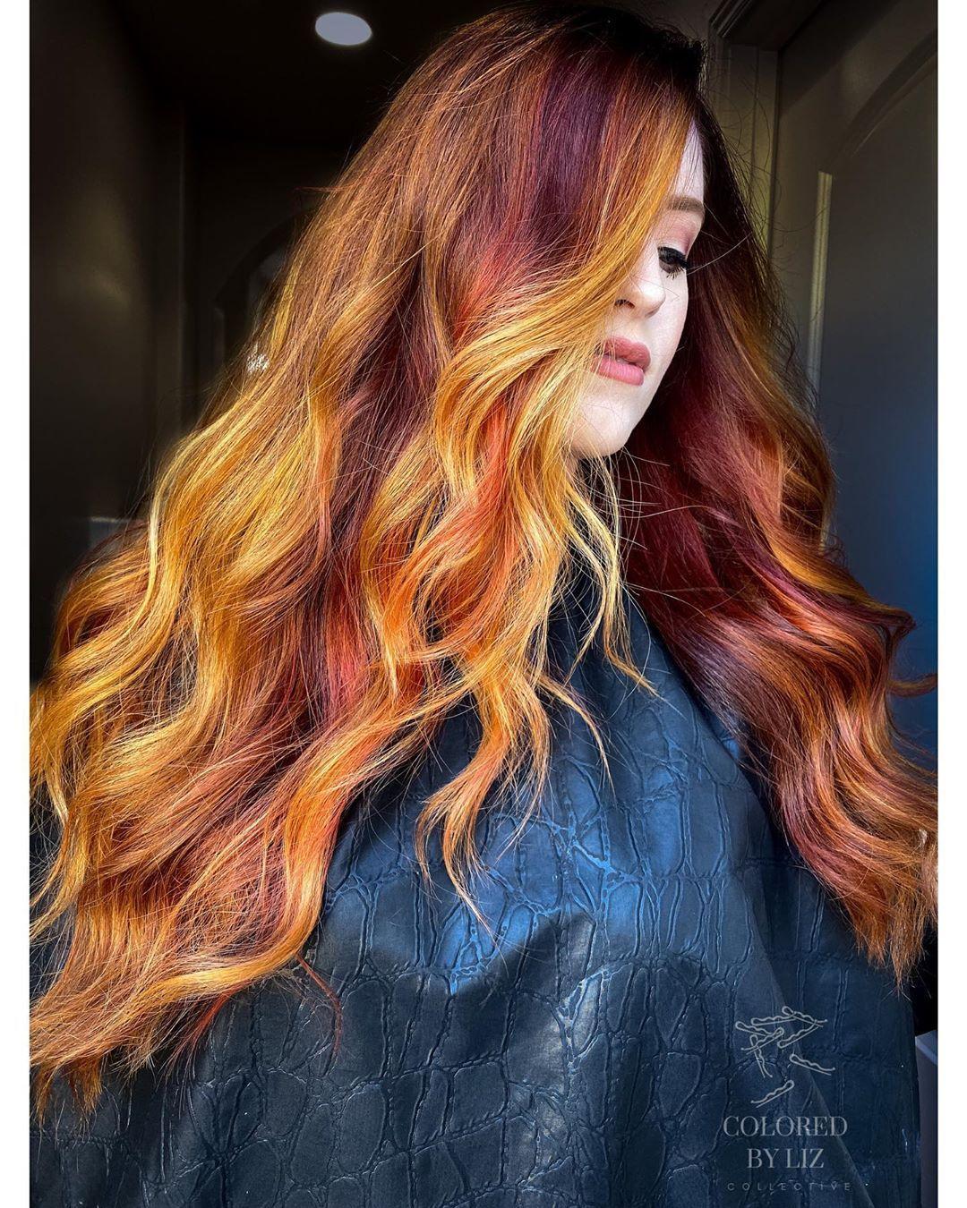 Liz Cook Balayage Specialist On Instagram Im Back When In Doubt Boost It All Color Done Using Pulpriothair Faction8 A Gekleurd Haar Haar Haarkleur