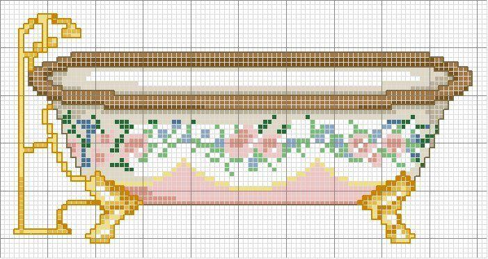 Bathtub Free Cross Sch Pattern