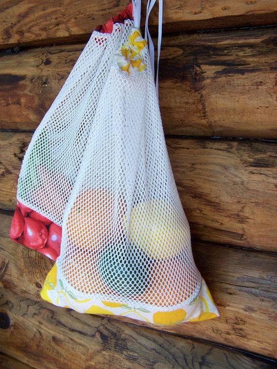 Farmers Market Bag DIY Sewing PATTERN by RebeccaMaeDesigns