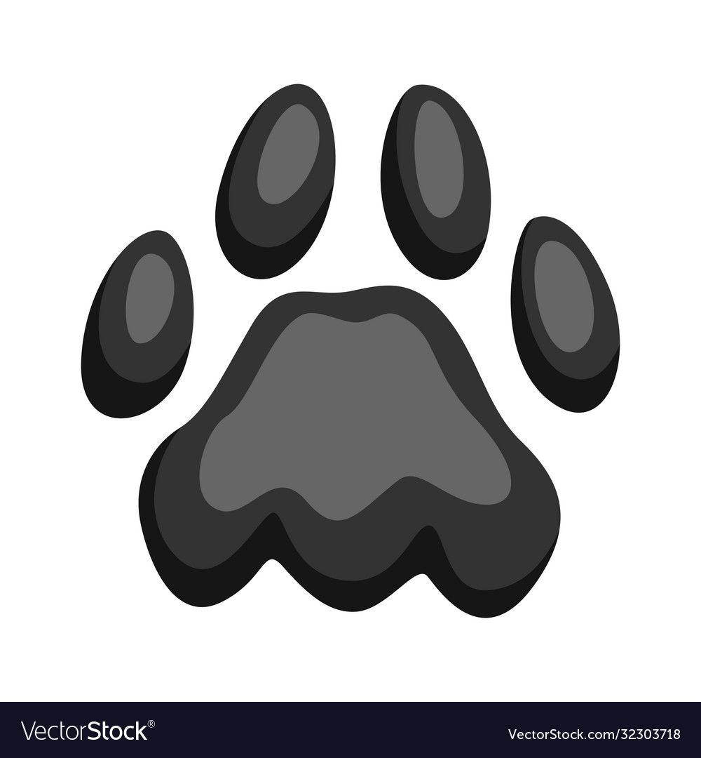 Illustration Of Print Cat Paw Cute Kitten Item Download A Free Preview Or High Quality Adobe Illustrator Ai Eps Pdf And High Paw Illustration Cat Paws Paw