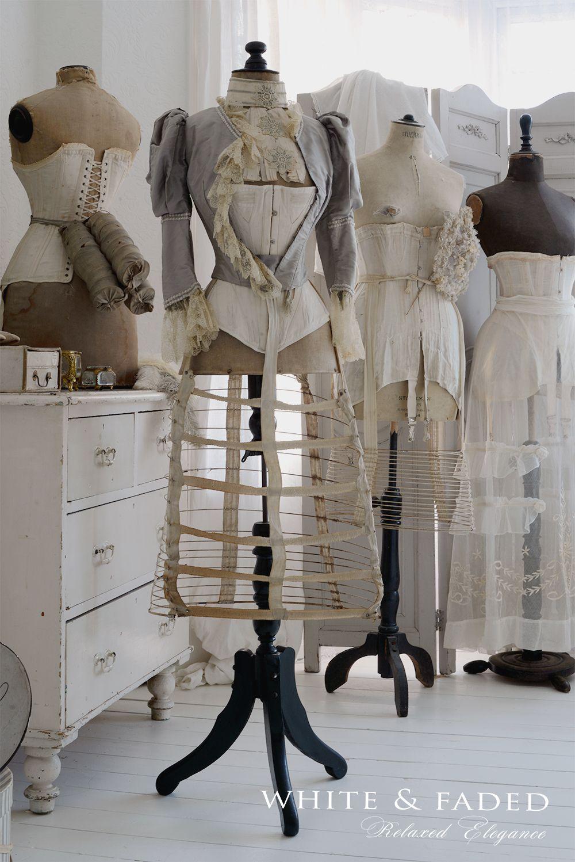 Vintage Dress Form Mannequin
