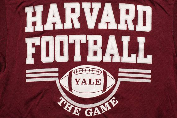 new product 3d8ae 1d85a Champion Harvard Football #99 Jersey T-Shirt, Vintage 1980s ...
