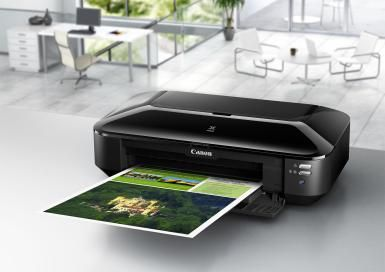 "Supertabloid (13""x19"") w/ Canon's Pixma iX6820 Wireless Inkjet Printer: Canon's Pixma iX6820 supertabloid (13x19 inches) photo printer"