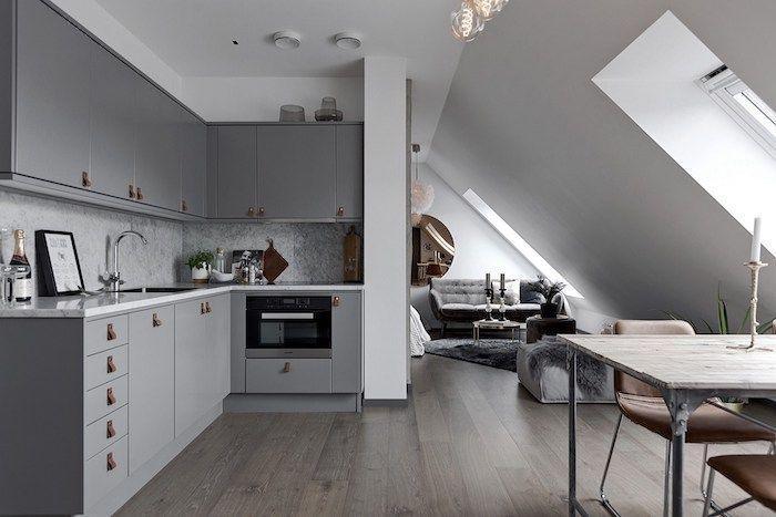 Dachgeschoss Küche 1001 ideen für einrichtung einer mansarde