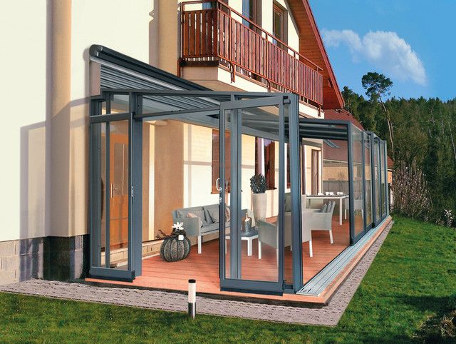 20 Beautiful Glass Enclosed Patio Ideas Enclosed Patio Patio House Ideas Modern Outdoor Patio
