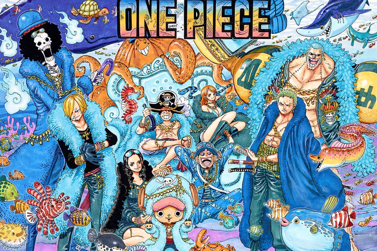 原作20周年記念スペシャルサイトオープン onepiece イラスト 漫画の壁紙 イラスト