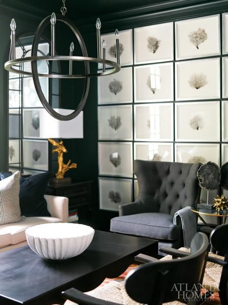 Sea fans curio Pinterest Interiors, Living rooms and Gallery wall